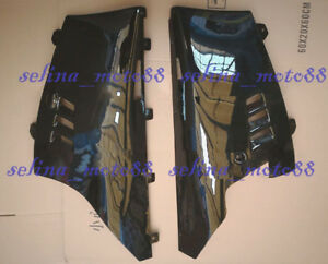 Left Right Side Lower Belly Cowl Fairing For SUZUKI RG500 RG400 1985 Gloss black