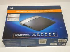 Linksys E2500 300 Mbps 4-Port 10/100 Wireless N Router w/power & ethernet cords