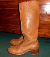 Vintage Bort Carelton Leather Boots Size 8.5/9