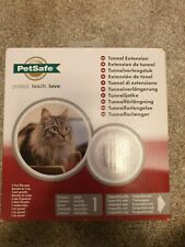 BNIB - PetSafe Tunnel Extension for Cat Flap Door in White