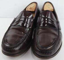 SAS Mens Penny 40 Slip On Loafers Burgundy MSRP $240 Size 11.5 M