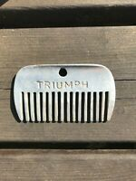 Vintage Stainless Steel Horse Comb Triumph A.I