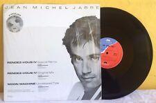 """JEAN MICHEL JARRE -RENDEZ VOUS IV- 1986 MEXICAN 12"""" RARE SINGLE AMBIENT"""