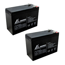 Set of 2 - 12v 10ah SLA Universal Battery for Currie eZip Trailz Electric Bike