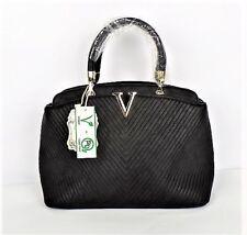 MyLux Women/Girl Designer Inspired Shoulder Handbag in Black
