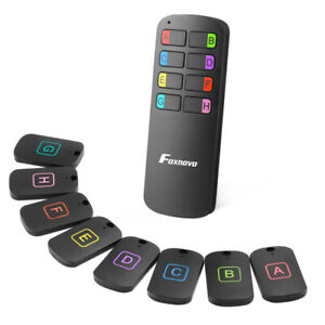 8 in 1 GPS Tracker Mini Anti-Lost Schlüsselfinder Smart Bluetooth GPS Locator DE