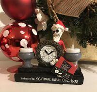 Nightmare Before Christmas EXCLUSIVE 2017 SANTA JACK LED Lights Up Tea Candle