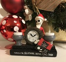 Nightmare Before Christmas EXCLUSIVE 2017 SANTA JACK LED Lights Up Tea Candle