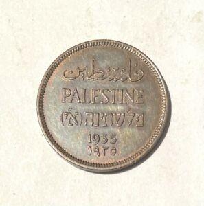 PALESTINE 1935 1 MIL KM#1 UNC.
