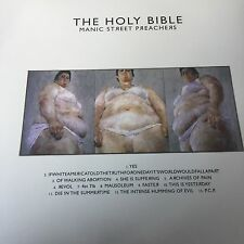 MANIC STREET PREACHERS - THE HOLY BIBLE - BRAND NEW VINYL LP