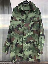 Yugoslavia Croat War Serb Krajina Army M89 Oak Leaf camo RARE TYPE Jacket Parka