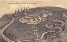 8707) BOLOGNA, S.MICHELE IN BOSCO, CARTOLINA DELLA PIANTA IN RILIEVO DEL COLLE.