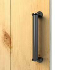 Stainless Steel Flat Black Side Mount Pull Handle for Wood Door Bar Handle