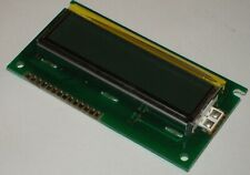 Lumex S01602D/B LCM-S01602DXX/B InfoVue Character LCD Modules 84mm x 44mm 14-Pin