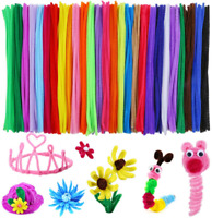 Caydo 324 Pieces Pipe Cleaners 27 Colors Chenille Stems for Christmas Crafts DIY