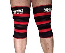 YAYB Protein Triple Ply Knee Sleeves (pair) War Series - Strongman -Powerlifting