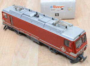 Roco Alpin Line 50305 E-Lok HGe 4/4 BVZ / analog / DSS / Neuwertig / Sp. 0m-1:45