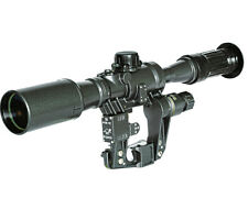 SCOPE SNIPER POS 6 x 36 WITH SIDE PLATE FOR MOUNT