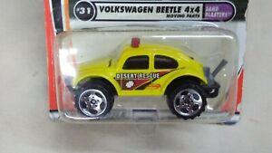 Matchbox 2001 Volkswagen Beetle 4x4 Sand Blasters Desert Rescue #31 of 75 cars