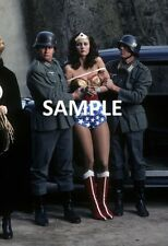 "Wonder Woman Lynda Carter 8"" x 6"" TV Series Photo Print  Nazi War"