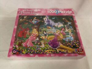 King 1000 Piece Jigsaw Puzzle Disney Princess * Beautiful Day * 05278 * COMPLETE