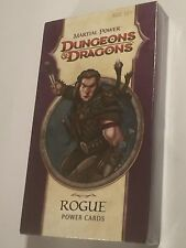 NEW OLD STOCK 2009 Dungeons & Dragons D&D CARTE POTERE MARZIALE Rogue 110 card pack