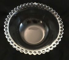 Imperial Candlewick Small Bowl, Clear Glass
