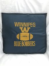 Vintage WINNIPEG BLUE BOMBERS CFL Canadian Football Stadium SEAT CUSHION