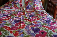 TARGET F/Q DUVET MULTI COLOR BOHO  WITH TWO MATCHING PILLOW CASES NIP