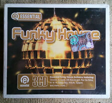 Essential Funky House Label: Apace Mus ‎– BOX 3CD - - NUOVO /SEALED