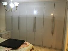 7 Door Built in Fitted Wardrobe, Made To Measure/ Made To Customer Specification