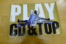 GD&TOP - Play With GD&TOP  Official POSTER* KPOP