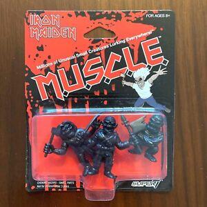 Iron Maiden Eddie Muscle Black Killers Super 7 Figures BRAND NEW
