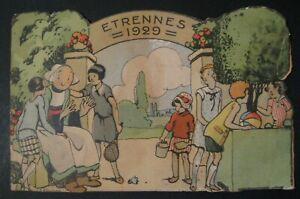 Bécassine Catalogue Etrennes 1929 état correct + chromo