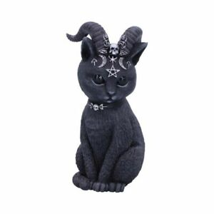 PAWZUPH Horned Occult Cat Feline Witch Devil Ornament Nemesis Now - FREE P+P
