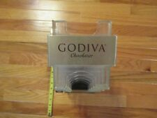 Godiva Chocolate Chocolatier store Advertising display rack