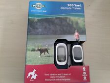 PetSafe 900 Yard Remote Dog Trainer Rechargeable Training Collar Dogs 8 lbs +