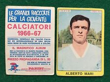 CALCIATORI 1966/67 66/1967 LAZIO Alberto MARI Figurina Sticker Panini (NEW)