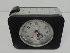 """Älterer Quartz Wecker Uhr """" Osaka """" 80er - alarm clock  ~ 80s"""