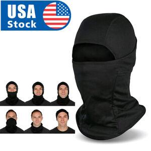 Balaclava Face Mask Ski Sun Hood UV Protection Tactical Mask for Black Men Women