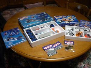 Used Meccano Building Sets Kit 6520 Complete + Kit 4505 Incomplete + SpareParts