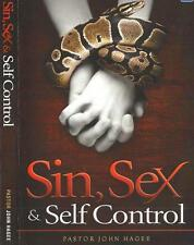 Sin, Sex, & Self-Control - 4 Dvds - John Hagee - Sale !  Rare LowestPriceEver !