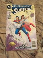 SUPERMAN THE WEDDING ALBUM #1 SPECIAL NEWSSTAND VARIANT [DC COMICS, 1996]