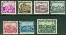 Belgium #B99-105 Complete set, og, Lh, Vf, Scott $59.95