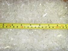 Tiny Clear Quartz Crystal Point Single Terminated 0.1 to 1.8 g Pcs 1 Kg  Lot