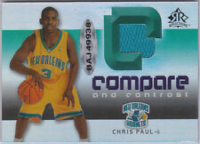 Chris Paul Raymond Felton 2005 06 UD Reflections Compare & Contrast 14/100