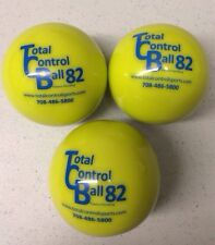 Total Control Softball Size 82...Weighted Training Balls...3 Pack