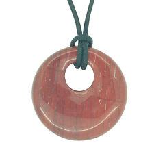 Lucky libra Piedra Agogo Colgante Zodiac Astrology Piedras Preciosas Rojo Jasper