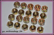 20 Radmuttern für Mazda Mitsubishi Toyota  Volvo Stahlfelgen  M12 x 1,5 NEU .