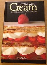 CREATIVE WITH CREAM Diane Lorna Walker Book (Hardback)